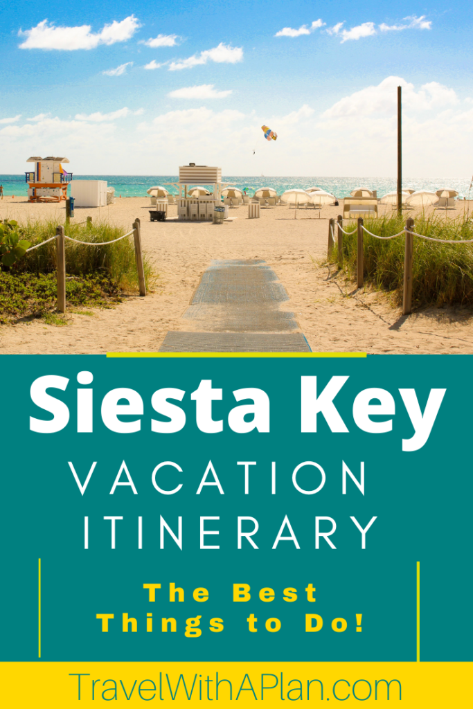Click here for a complete Siesta Key Family Vacation Itinerary from Top US Family Travel Blog, Travel With A Plan!  #SiestaKey #Florida #familytravel