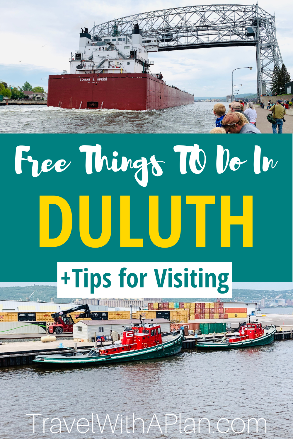 Click here to find our our favorite and best things to do in Duluth that are free!  If you're taking a family getaway to Duluth, MN, be sure to check out this list and get tips for your visit!  #Duluth #Minnesota #midwesttravel #familytravel #Duluthattractions #NorthShore