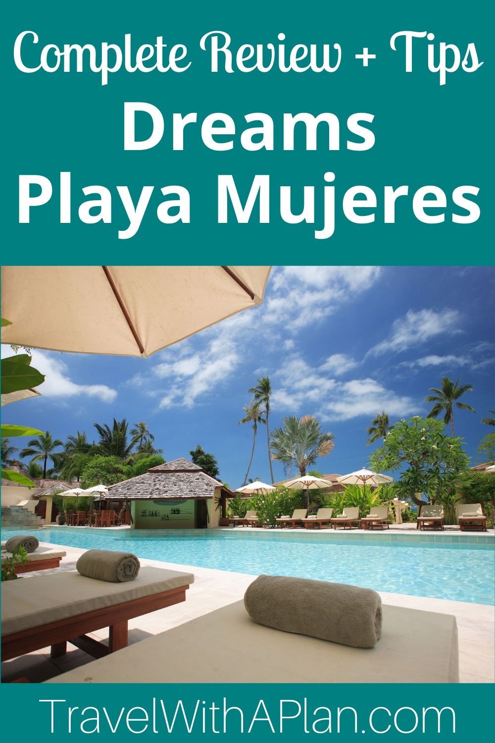 Click here for a complete Dreams Playa Mujeres review plus the best tips for your visit to the Mexico paradise!  We give you a complete recap of our stay!  #DreamsPlayaMujeres #Mexico #allinclusiveresorts #familyvacation #tropicalgetaways #familytravel #springbreakdestinations