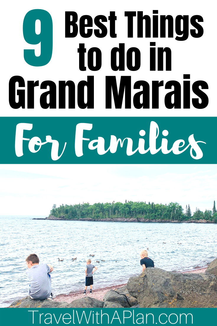 Discover the best things to do in Grand Marais, MN from Top US Family Travel Blog, Travel With A Plan!  #Minnesota #familytravel