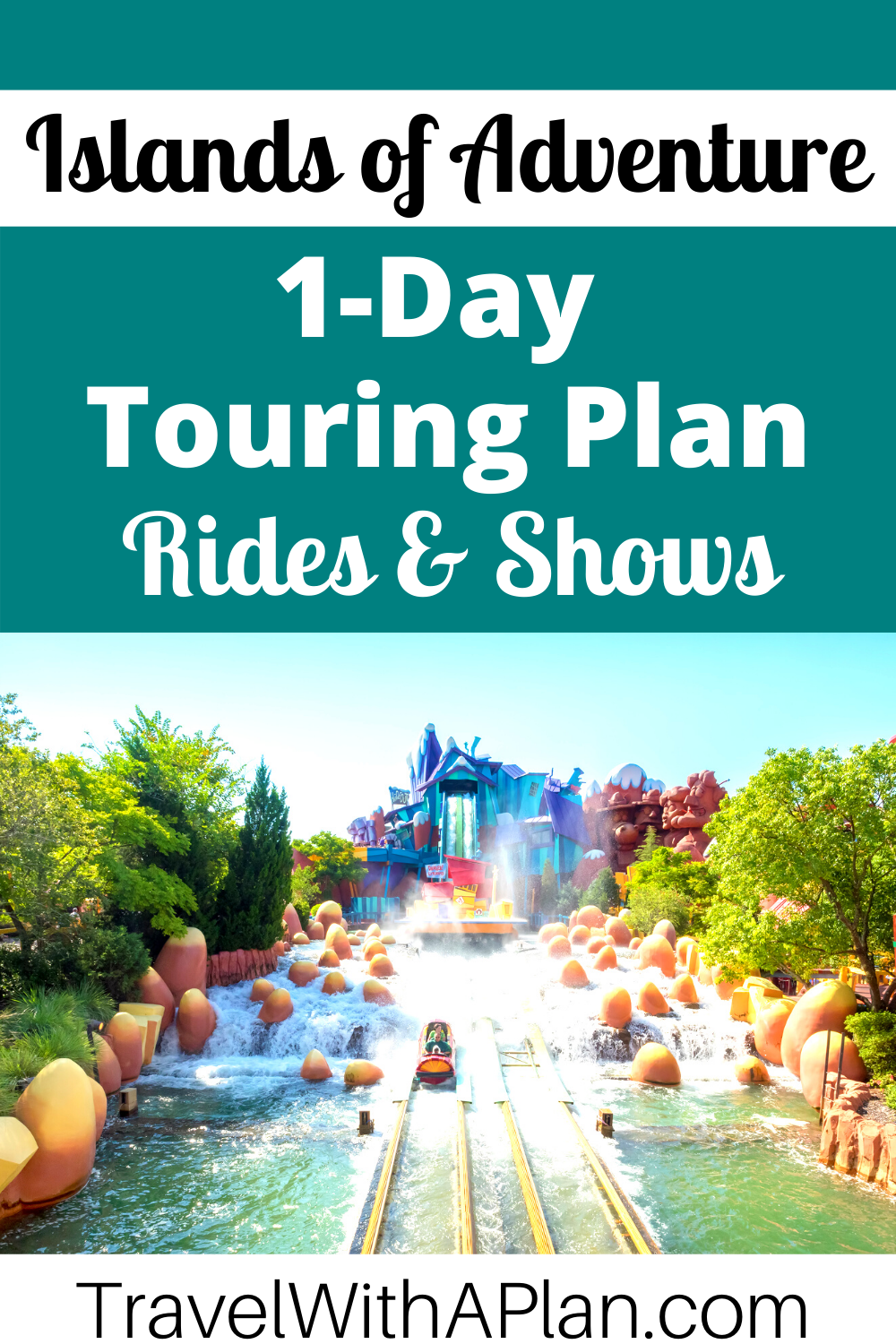 Click here to discover an awesome 1-Day Islands of Adventure touring plan from top US Family Travel Blog, Travel With A Plan!  #UniversalOrlando #familytravel
