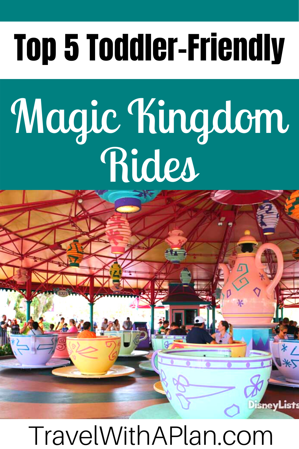 Discover the absolute best Magic Kingdom rides for toddlers from top US family travel blog, Travel With A Plan!  #Disney #familytravel