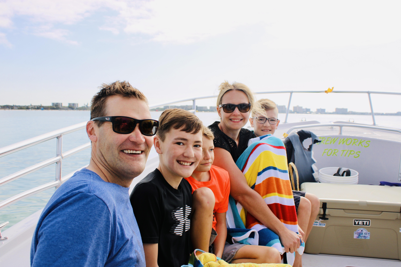 Parasail Siesta boat ride