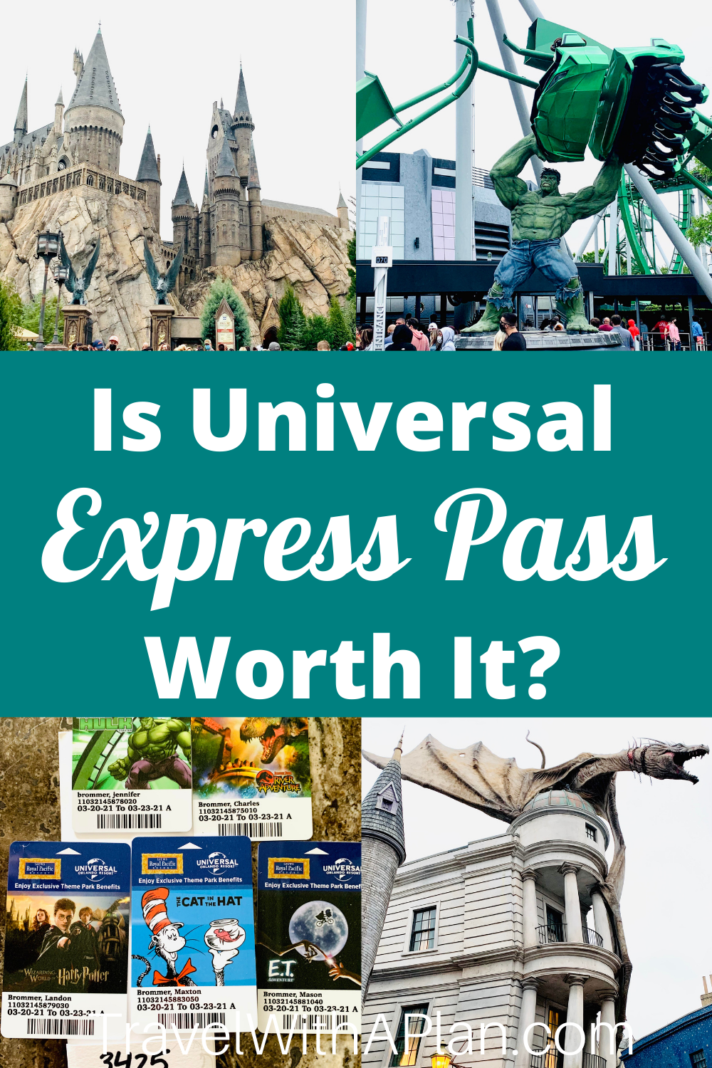 Is Universal Express Pass worth it?  Find out from top U.S. family travel blog, Travel With A Plan!