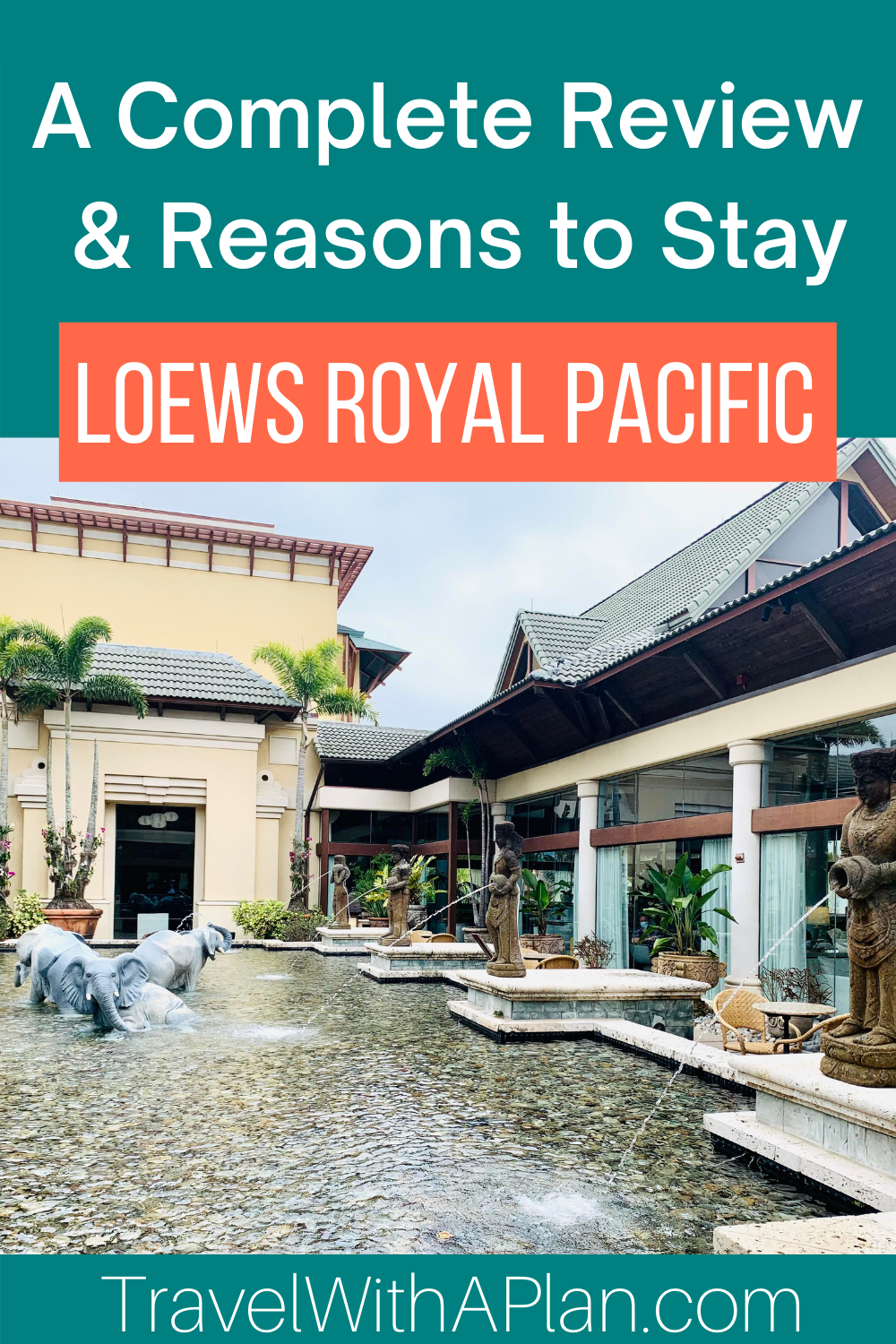 Check out the 9 reasons to stay at Loews Royal Pacific at Universal Orlando from Top U.S. Travel Blog, Travel With A Plan!