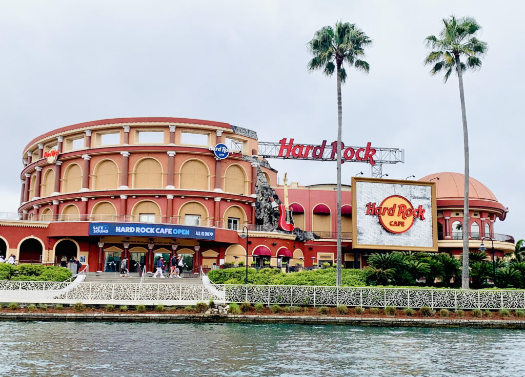 The 7 best restaurants in Citywalk ranked by top U.S. family travel blog, Travel With A Plan!  (Hard Rock Cafe)