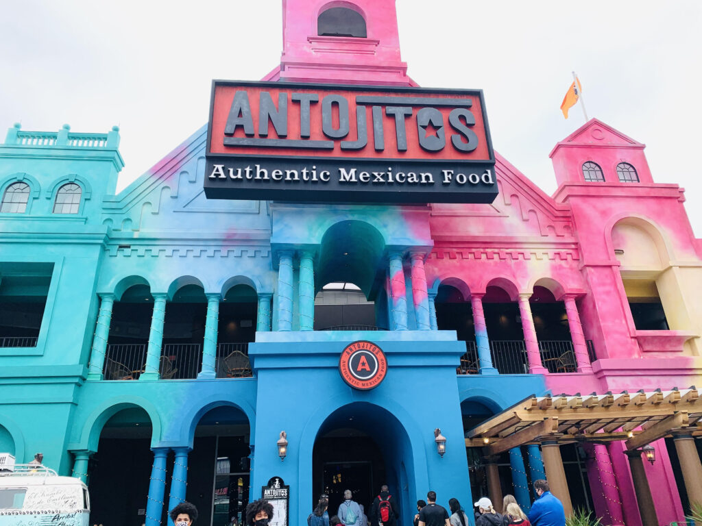 The 7 best restaurants in Citywalk ranked by top U.S. family travel blog, Travel With A Plan! (Antojito's Authentic Mexican Food)