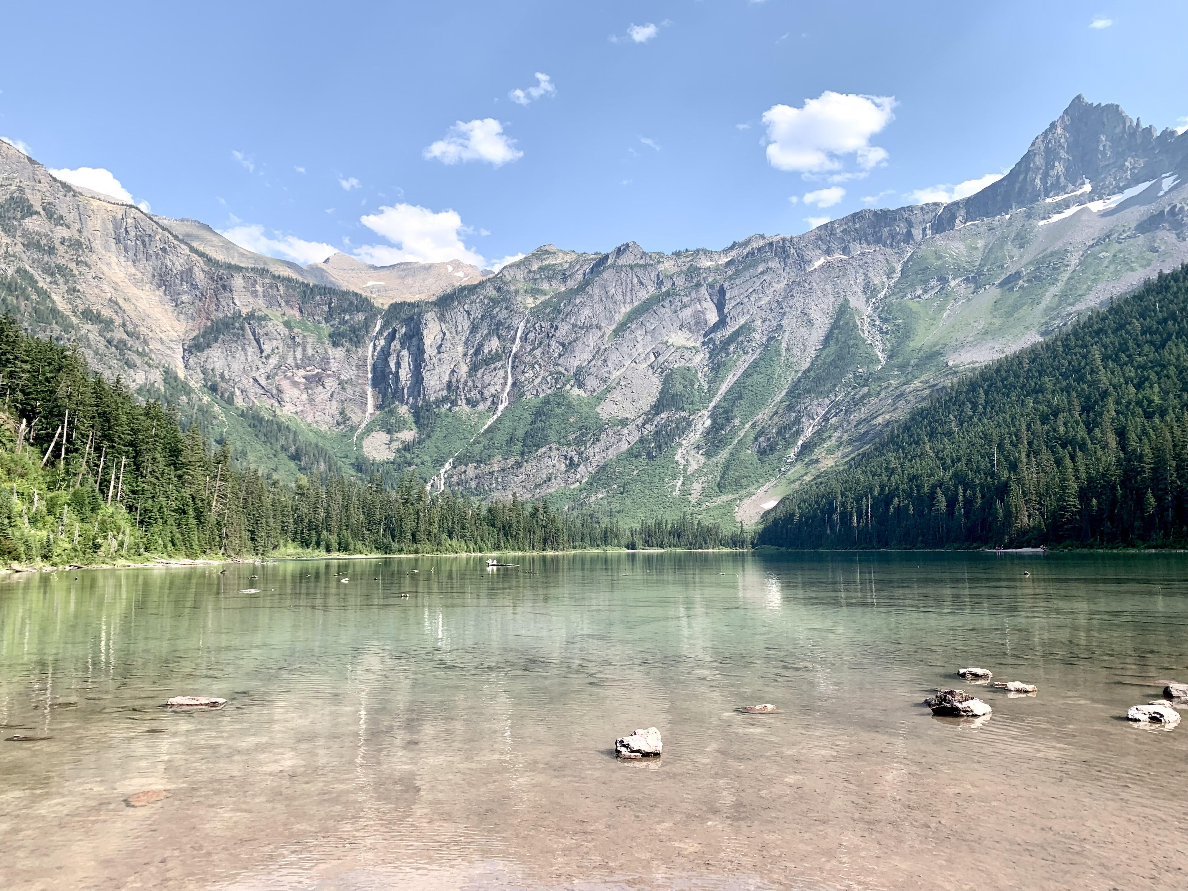 Avalanche Lake; one of the best spots on Going to the Sun Road