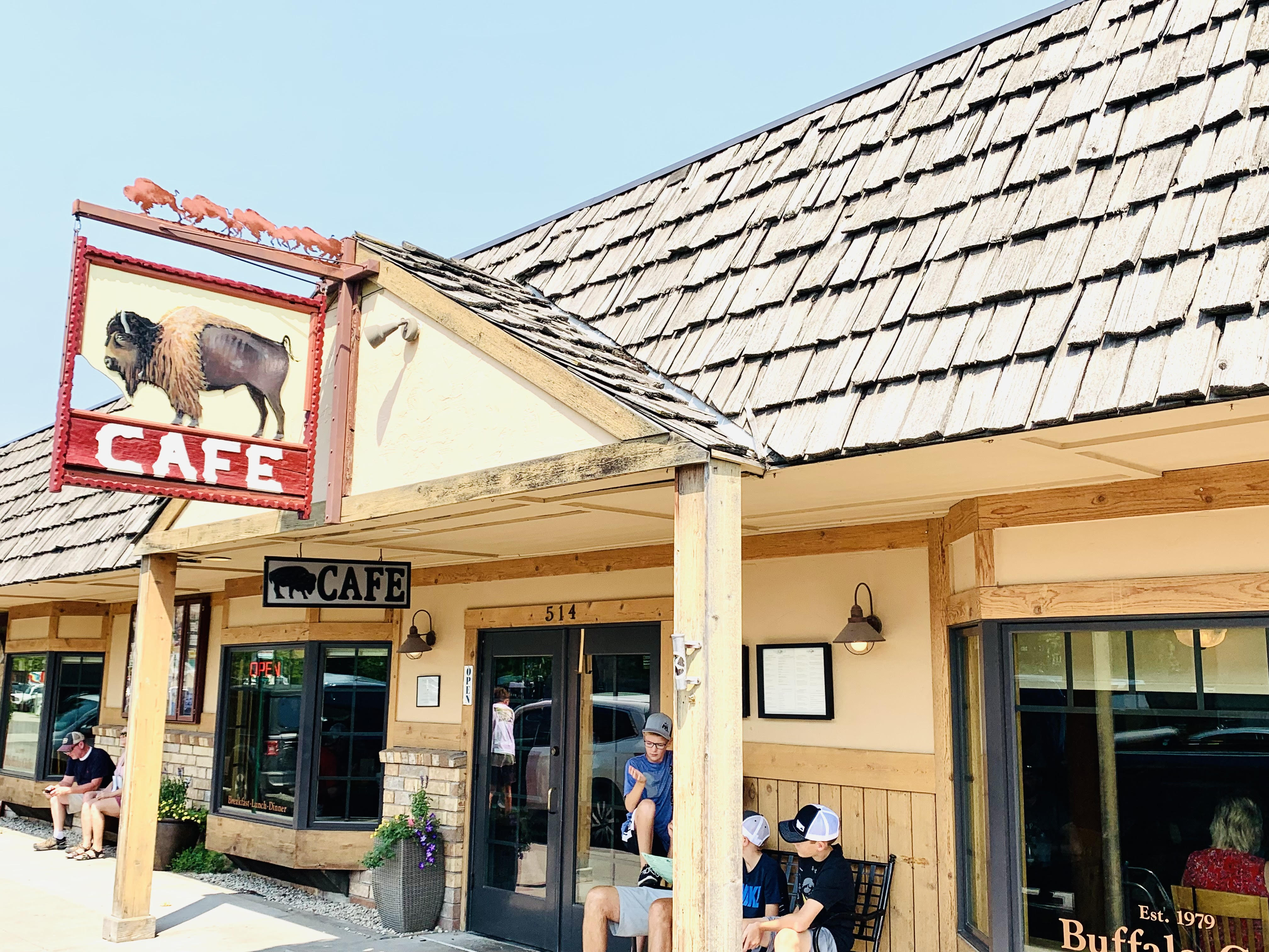 The Buffalo Cafe (Featured as one of the best restaurants in Whitefish, Montana by top US family travel blog, Travel With A Plan!)