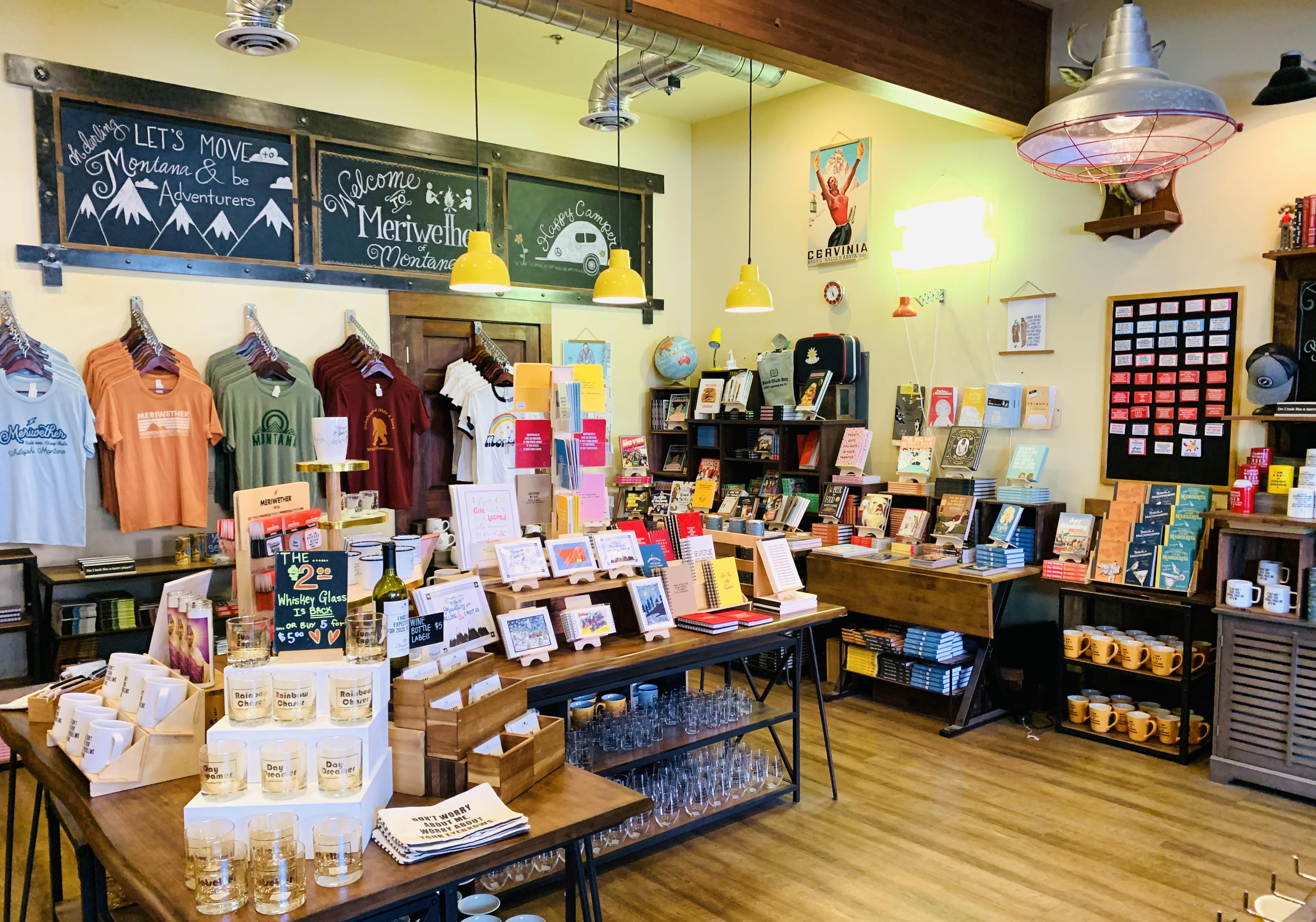 Whitefish Montana gift shop