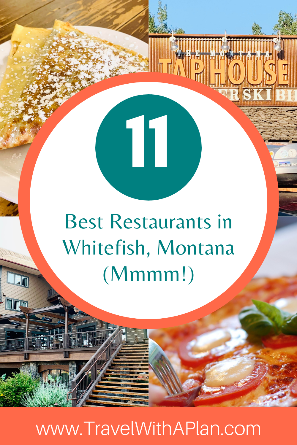 Find out the absolute best restaurants in Whitefish, Montana from top US family travel blog, Travel With A Plan!
