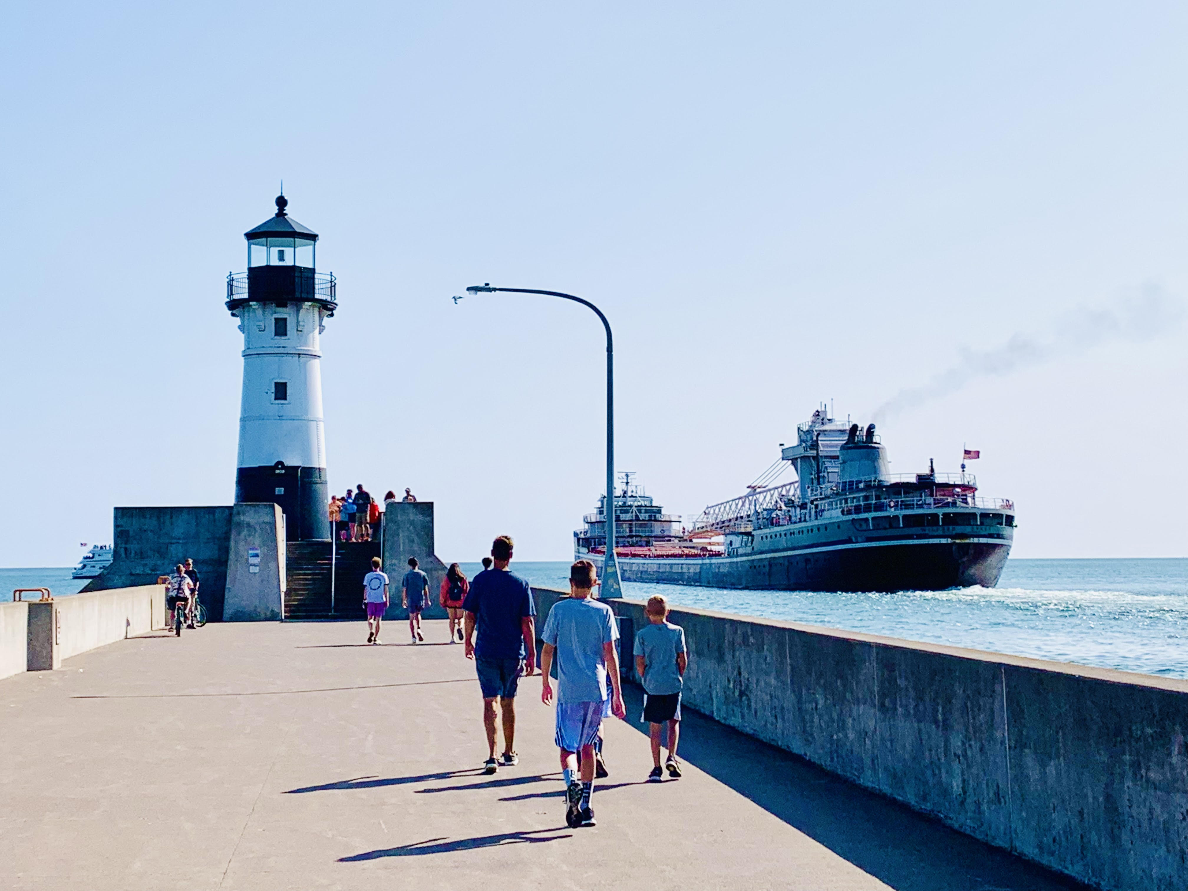 Discover the best Duluth attractions from top U.S. family travel blog, Travel With A Plan:  Canal Park in Duluth