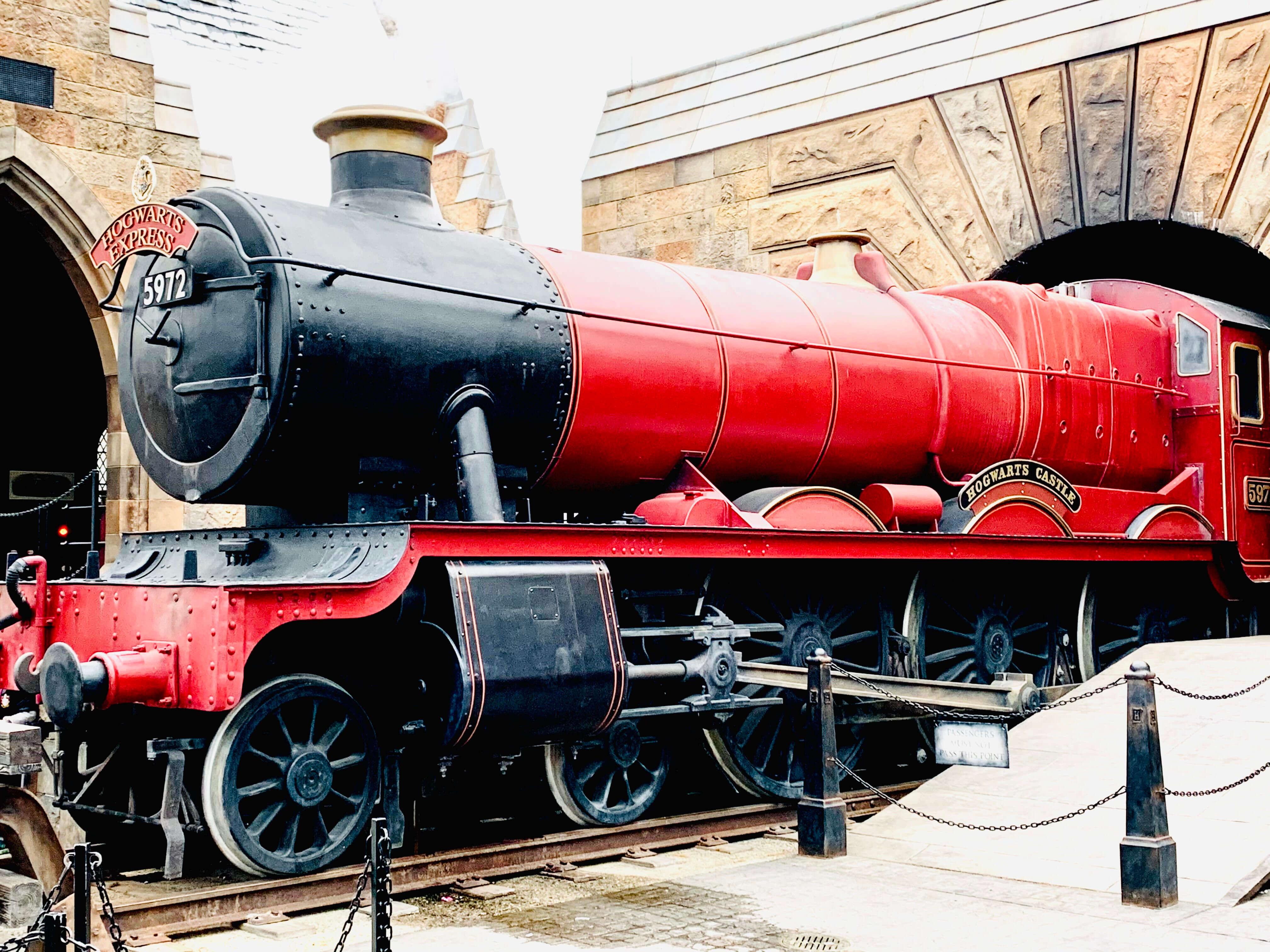 Ride Hogwart's Express as part of your Universal Studios touring plan