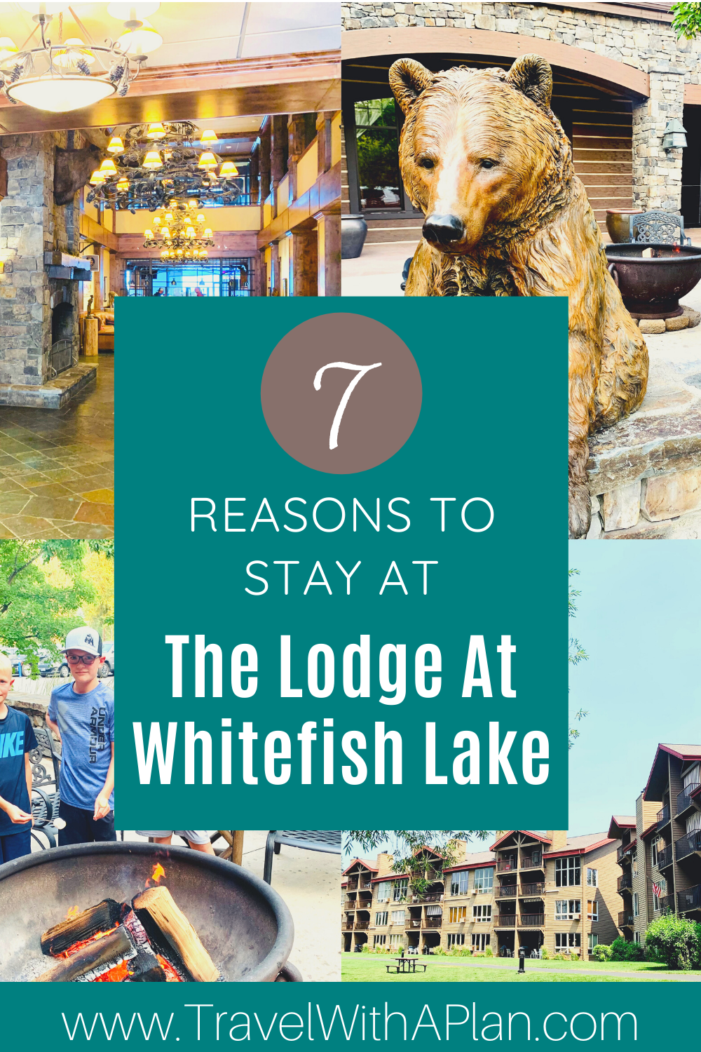 7 Reasons to Stay at The Lodge at Whitefish Lake (From Top US Family Travel Blog, Travel With A Plan)!