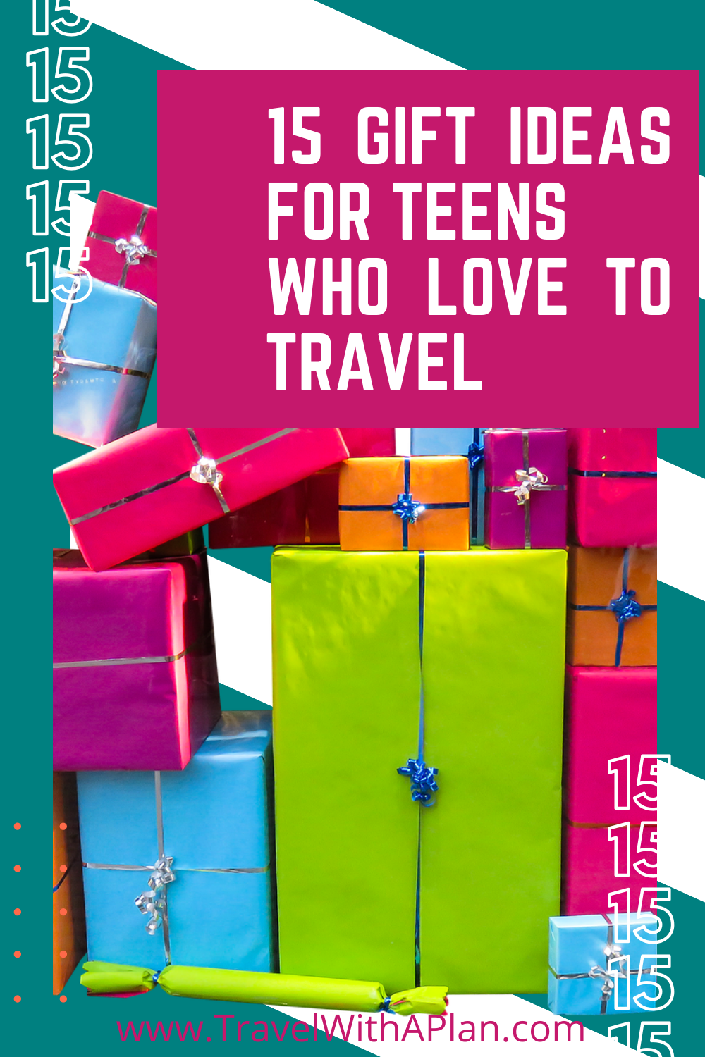 Get our awesome list travel gifts for teens, from top US family travel blog, Travel With A Plan!