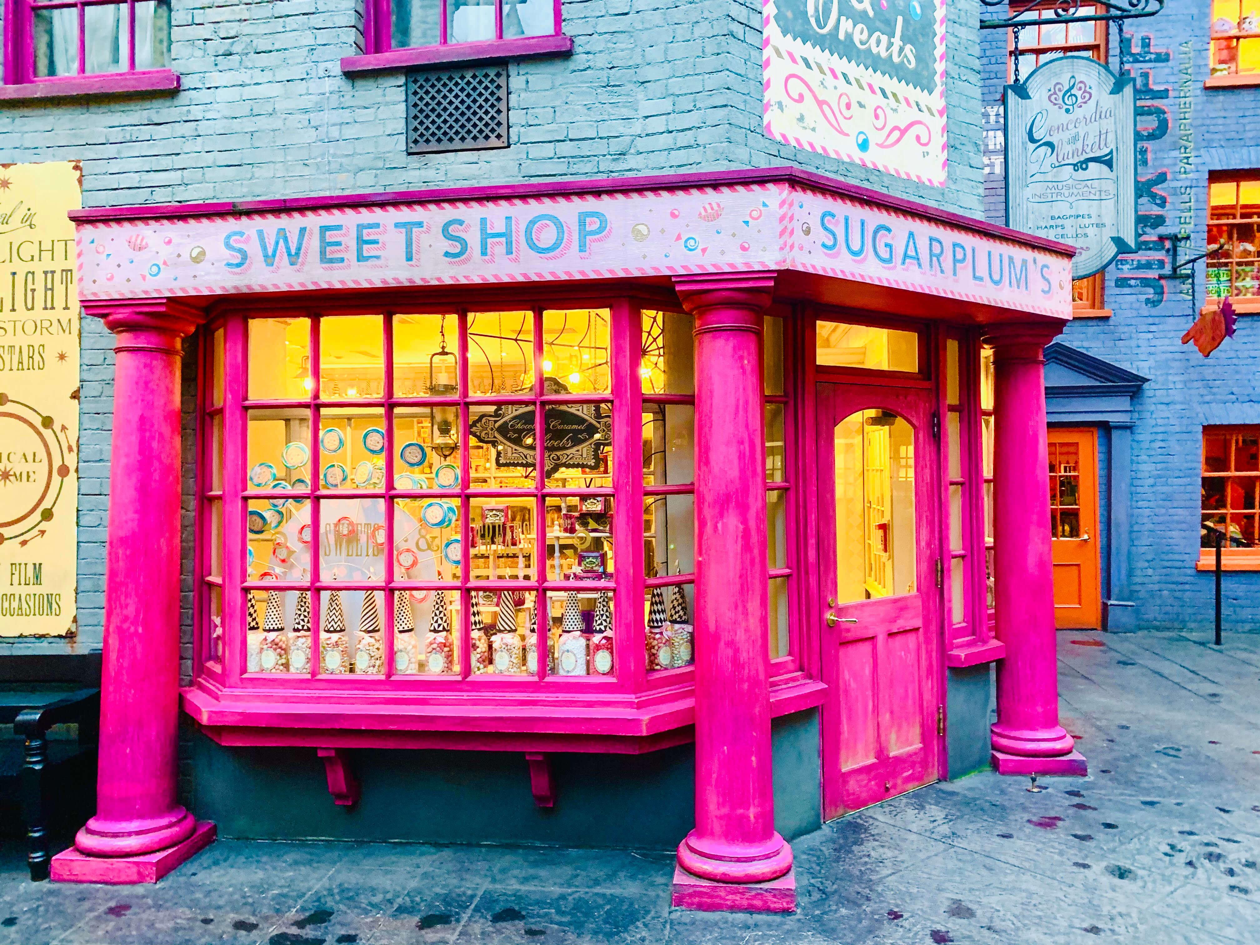 Harry Potter World shops