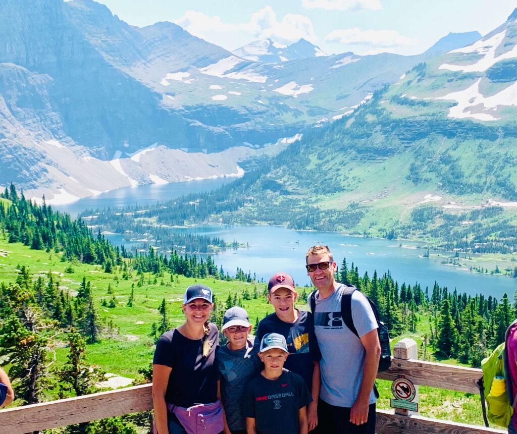 Hidden Lake Overlook view