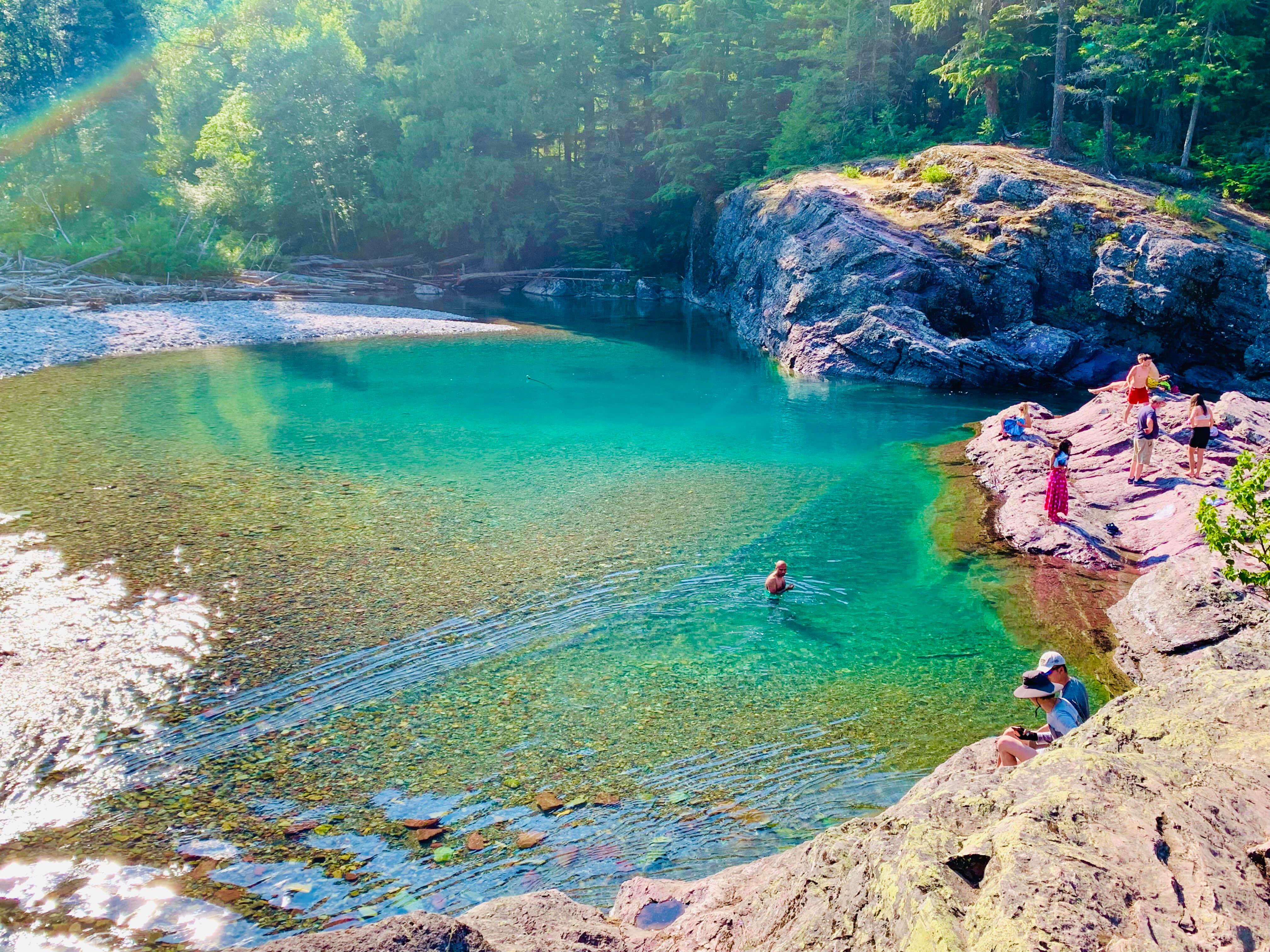 Redrock swimming hole