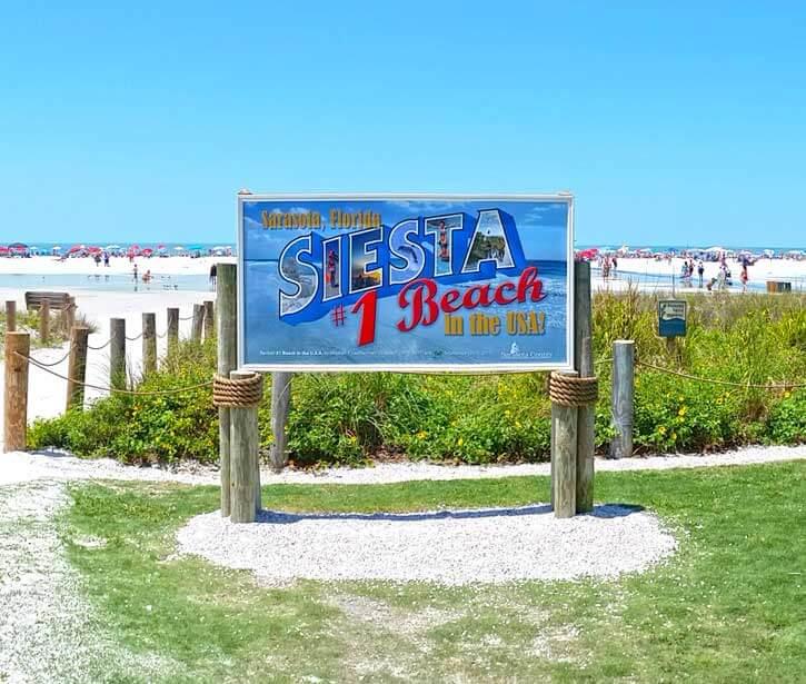 Welcome to Siesta Key Beach!