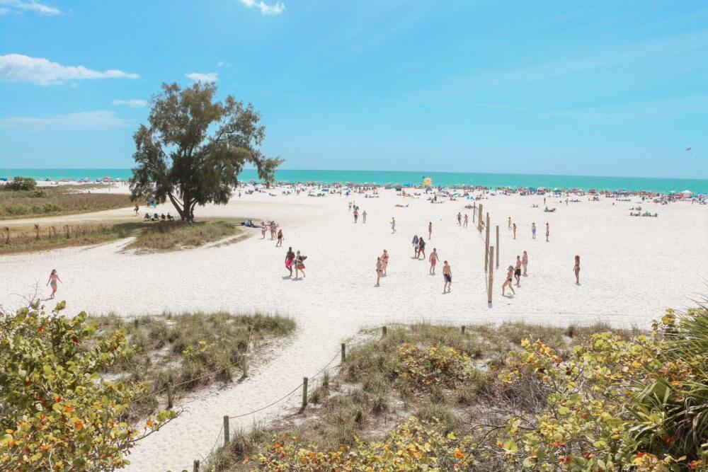 Things to do in Siesta Key; volleyball at Siesta Key Beach