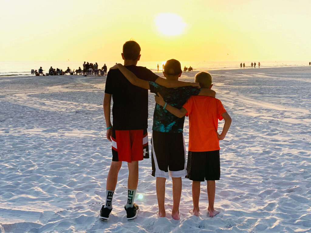 Watch a sunset for things to do in Siesta Key
